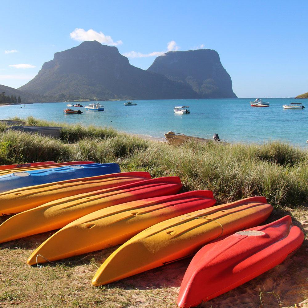 Lord Howe Island Beaches: Hideaway Apartments - Hideaway Apartments